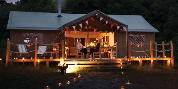 Enjoy a magical autumn and winter glamping break with Lantern & Larks