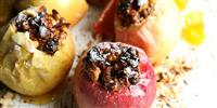Fire Pit Food: Berry Baked Apples