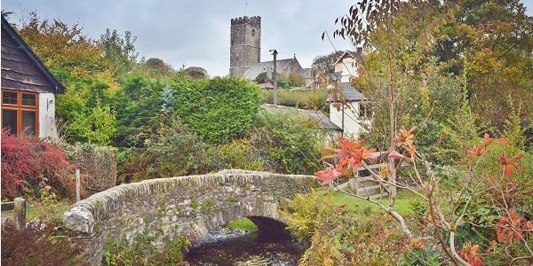 View seen during Winsford Exmoor walk