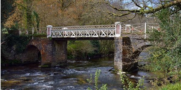 View seen during Dulverton Circular Exmoor walk