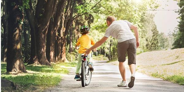 Cycling is a fantastic way for the family to get out during your glamping break