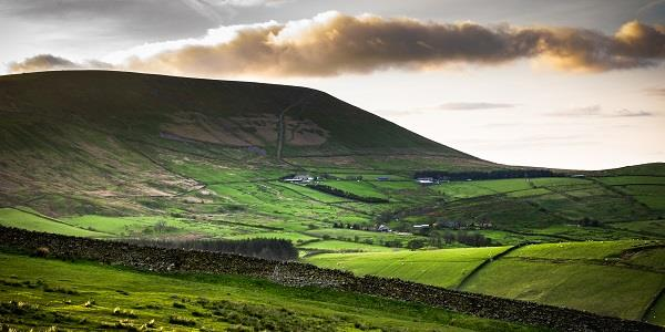 Pendle Hill is a challenging, but beautiful cycle route in Lancashire