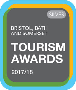 Silver 2017/2018 Bristol, Bath and Somerset Tourism Awards