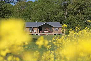Enjoy the views accorss the fields surrounding our Sweffling Hall sites