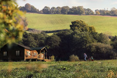 Book a holiday at our Somerset glamping site