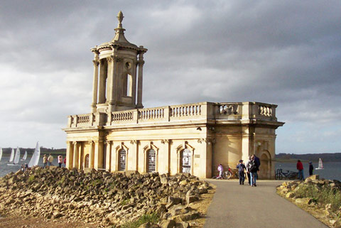 Normanton Church - Rutland Waters most famous landmark, St. Matthews Church