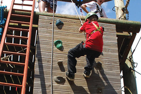 RockBlok - Thrilling High Ropes, Climbing, Abseiling and more, all in one welcoming outdoor activity centre on the North Shore of Rutland Water at Whitwell!