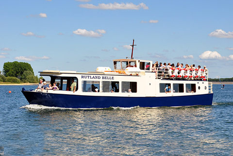 Cruise around on the Rutland Belle