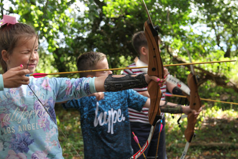 Woodland archery sessions